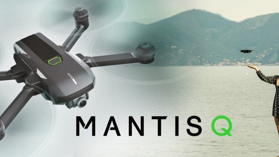 Yuneec Unveils Brand New Foldable Drone Introducing the Mantis Q