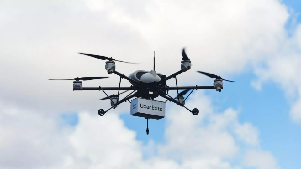 Amazon, Google, and Uber The Race to Launch Drones in Our Skies