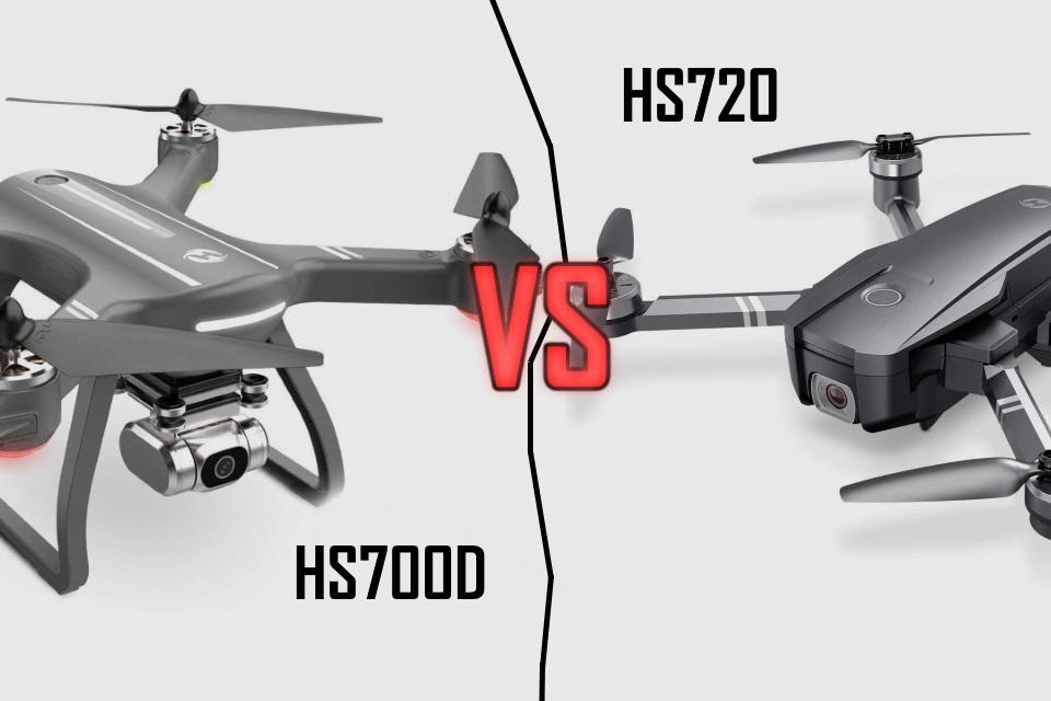 HS700D Ophelia VS HS720 Drone