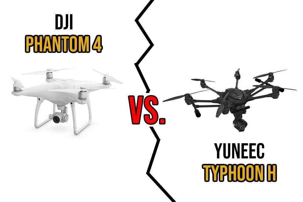 Yuneec Typhoon H vs Phantom 4 Drone