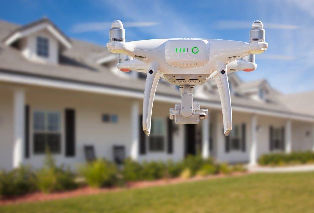 Flying a Drone in a Neighborhood