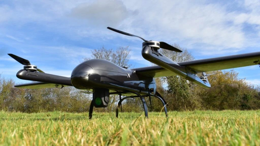 Fixed-Wing Hybrid Drones